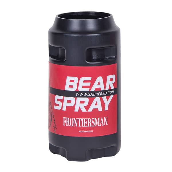 A can of bear spray you need to keep handy