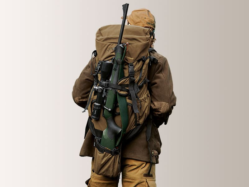 A hunter's backpack.