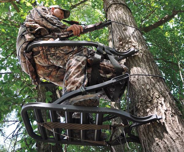 A Climber Tree Stand for Bow Hunting