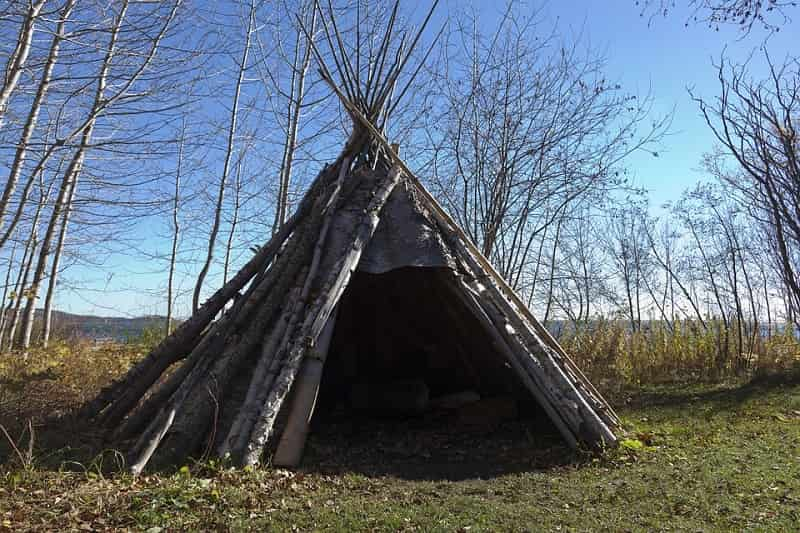 Teepee Survival Shelter