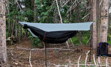 Hammock Survival Shelter
