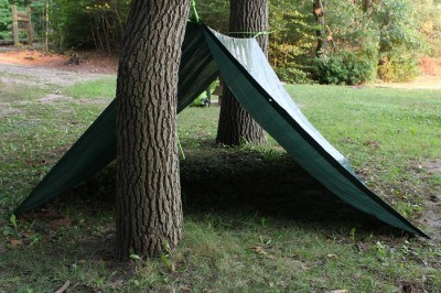 Tarp Tent Survival Shelter