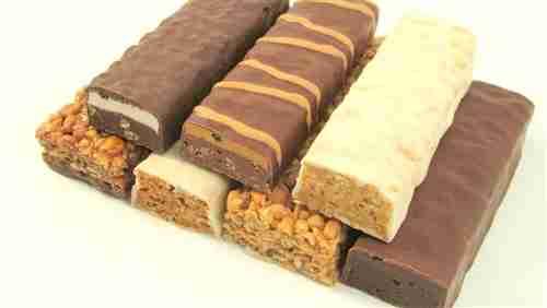 Calorie-dense protein bars
