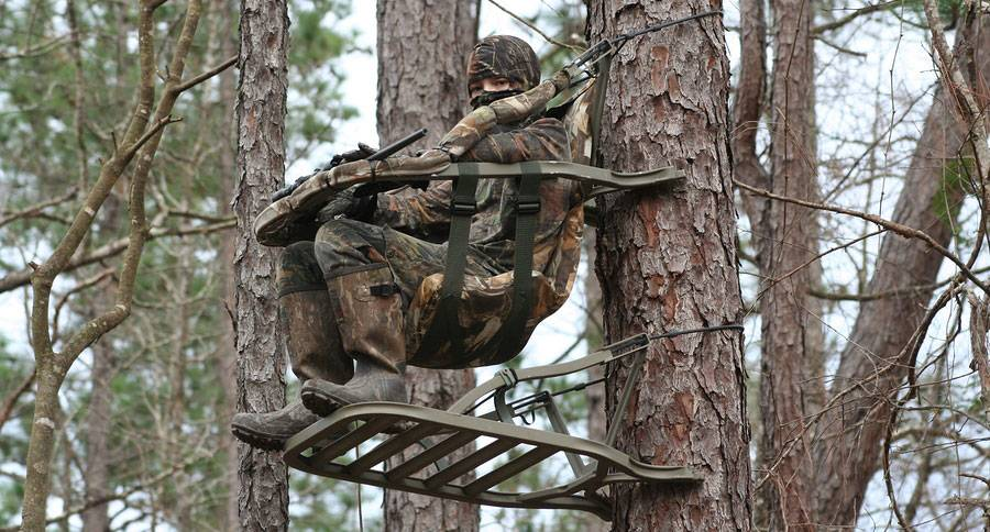 Make sure your tree stand is safe and concealed