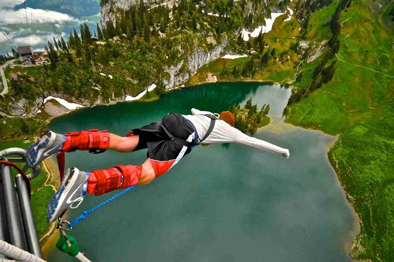 Экстремальный отдых в Швейцарии фото