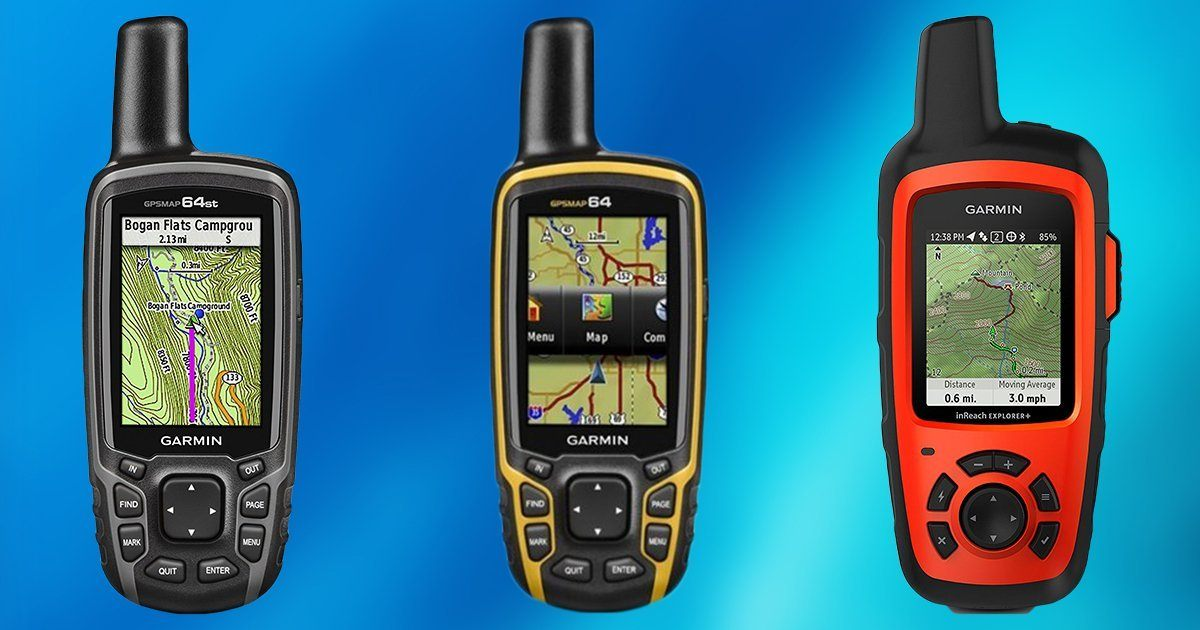 3 types of  GPS Devices