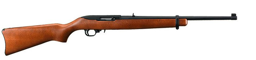 brown rifle